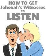 Answer Jehovah's Witnesses